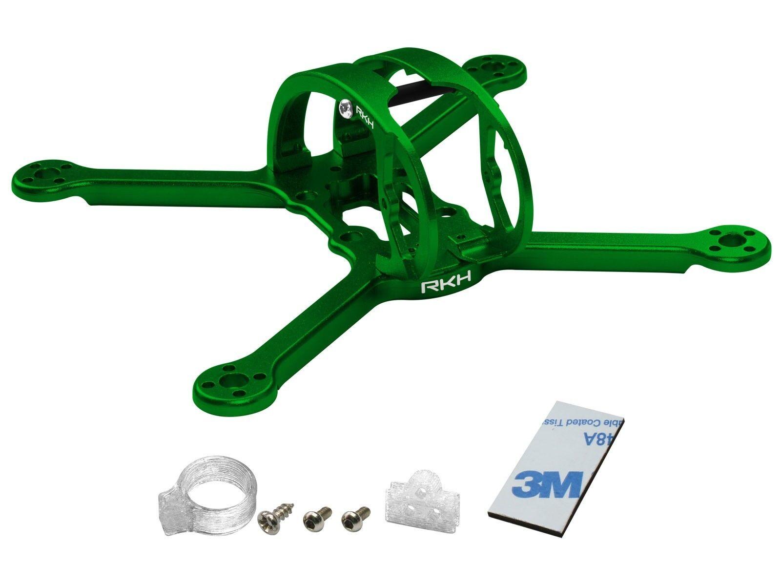 Rakonheli CNC Aluminum 3inch Kit (Green) - EMAX Babyhawk R