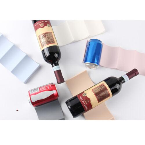 1pc Wine Bottle Organizer Holder Mat Stacker Cans Fridge Mats Beverages Racks