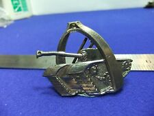vtg badge armoured belgian troops training military army tank stirrup