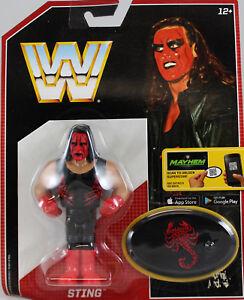 Rétro WWE App Action Série MATTEL 6 Wrestling Figure Sting NWO WCW TNA Lutteur  </span>