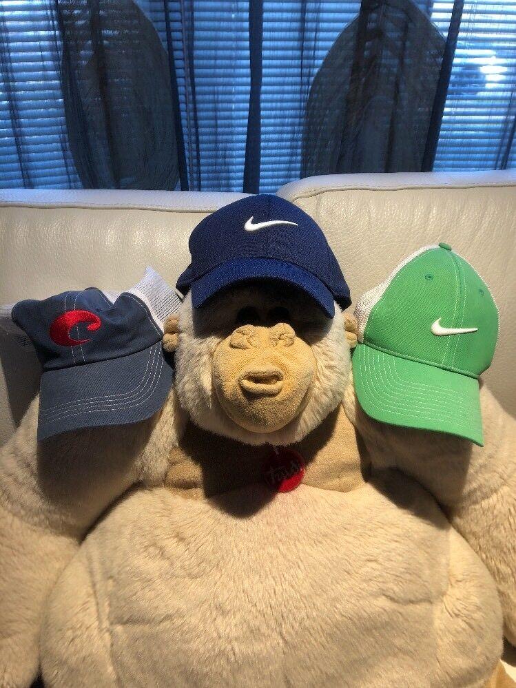 Huge Lot Nike Hat C Cap Tennis Strapback DriFit Adjustable C Hat Pics 221574