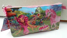 Double Pencil Case with Accessories 18.3x23.5x5cm Large MIA and ME-LYRIA