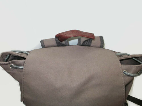 Coca-Cola Gray Canvas Computer Tote Backpack BRAND NEW