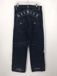 Vintage Marithe Francois Girbaud Explicar Jeans Para Hombre Talla 32x33 Ancho Pierna Oscuro Ebay