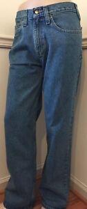 NWT-Carhartt-Relaxed-Fit-Straight-Leg-Jeans-Jean-Denim-Blue-B460-LVB-B460LVB-Men
