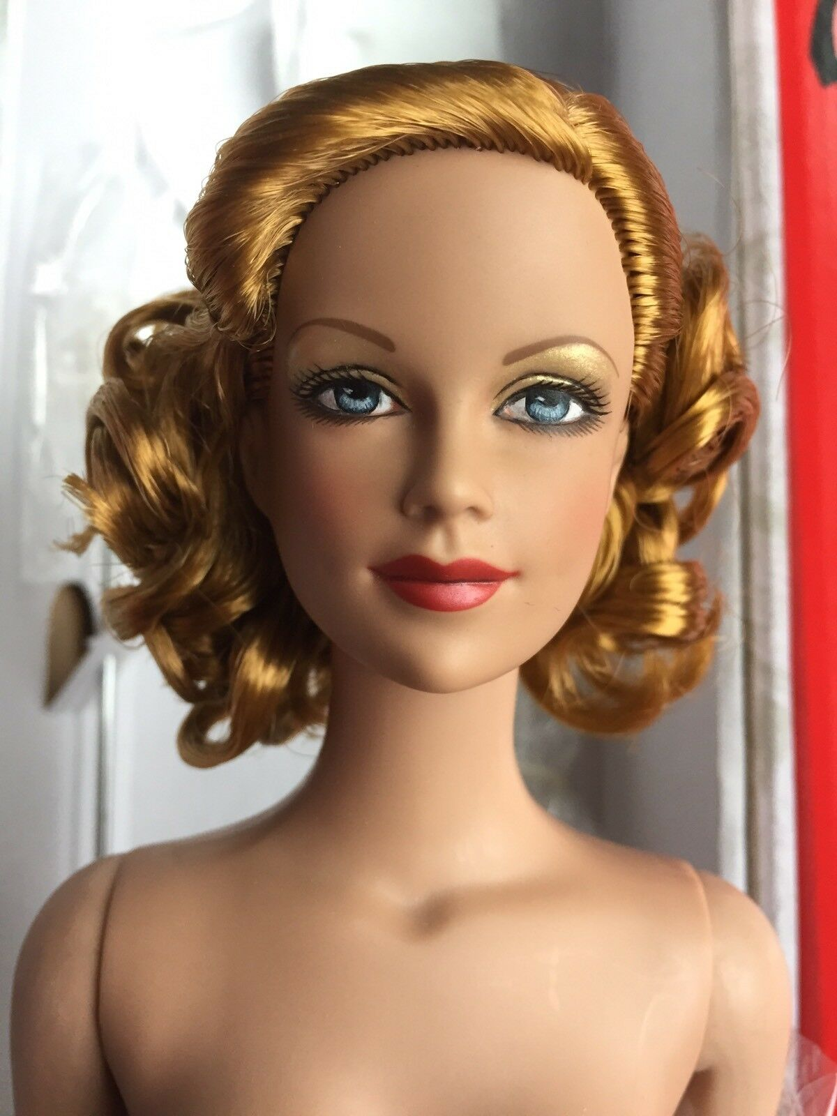 Tonner Tyler 16  NUDE 24KT BRENDA STARR Fashion Doll With Box + Stand  BA BODY