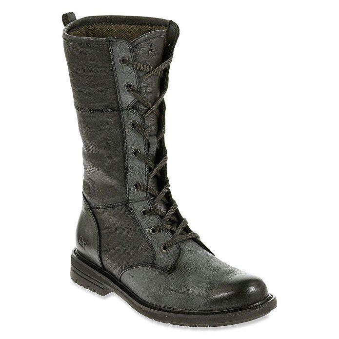 CATERPILLAR Damenschuhe DIALOG CANVAS BOOT BLACK P308053