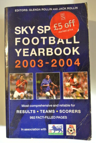 1 of 1 - Book. Sky Sports Football Yearbook 2003-2004. 34th Year. Paperback.