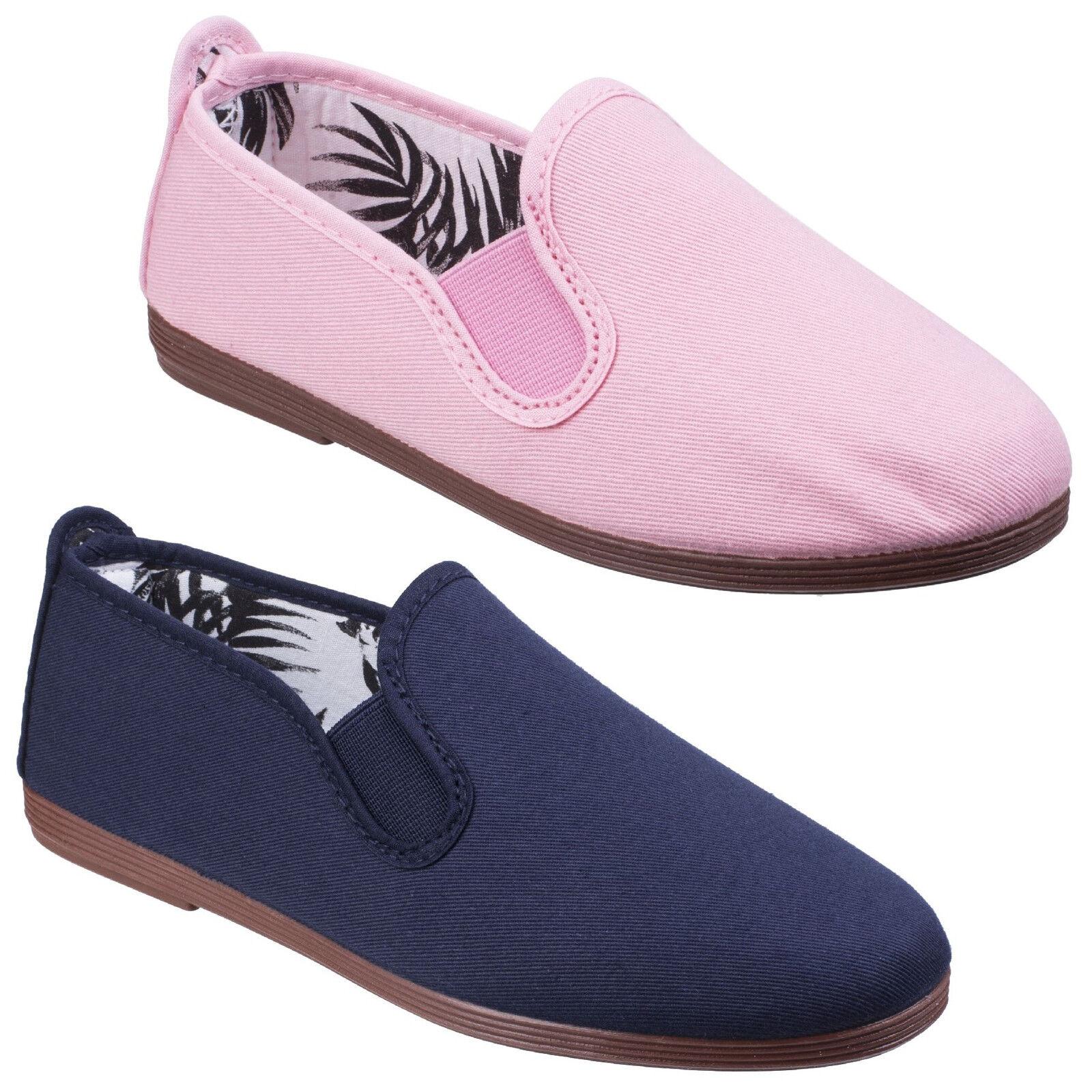 Javer Kung-FU Chaussures en toile pour femme