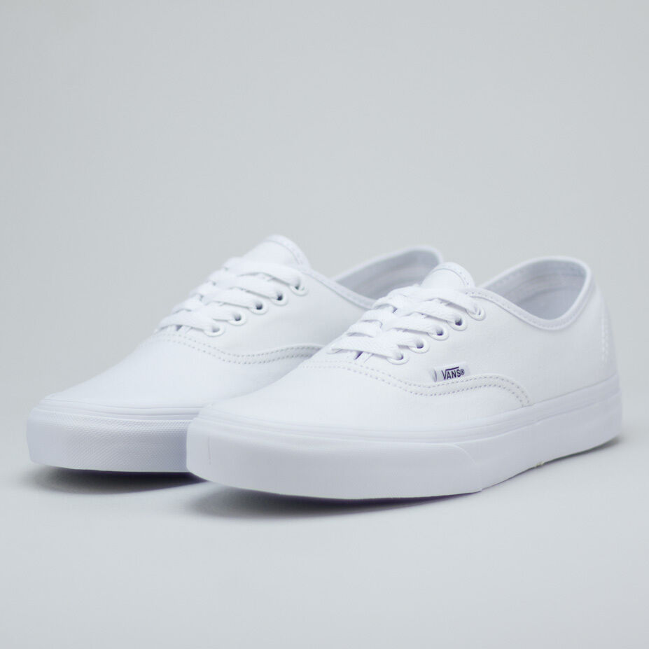 Vans Authentic Trainers True in Weiß Brand New in True box UK Größes 4,5,6,7,8,9,10,11 212b47