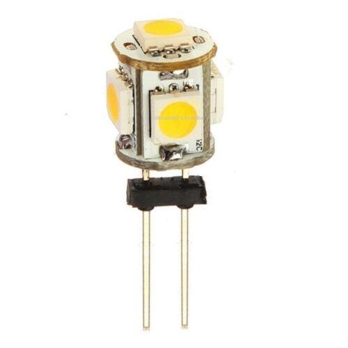 4 G4 Low Voltage Landscape Light LED conversion 5 Cool White led/'s per bulb