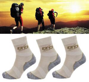 2-3er Paire Bootdoc Trail T5 Homme Chaussettes Pour Randonnée Bas Chaussures De