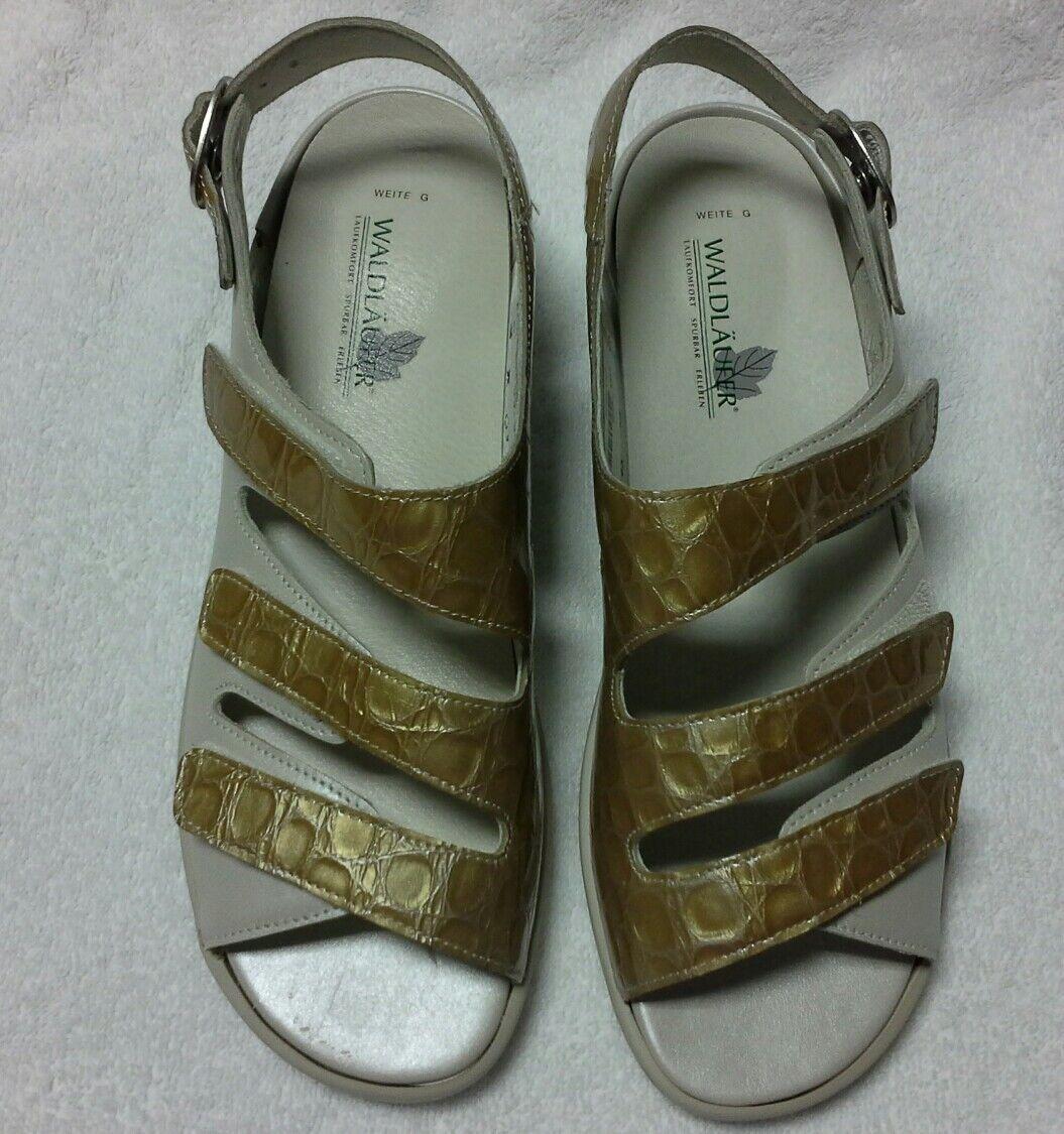 Damen Sandalette Gr.38 mit Wechselfußbett  von Waldläufer