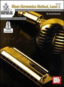 Blues-Harmonica-Method-Level-2-Partitions-livre-audio-apprendre-a-jouer