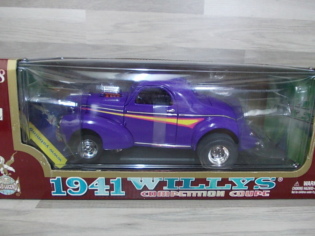Road signature col 1 18 - willys coupé 1941
