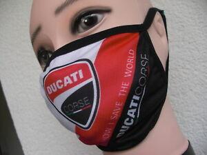 Ducati Bouche-Nez Masque 2-plis behelfs Masque réutilisable NEUF