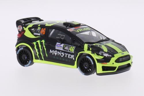 IXO RAM603, FORD FIESTA RS WRC V ROSSI   CASSINA MONZA 2014, 1 43 SCALE