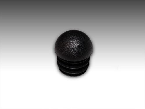 30 x Fussstopfen Ø 32mm schwarz Kugelstopfen Rohrstopfen Fusskappen Gartenstuhl