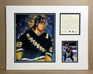 Pittsburgh Penquins Jaromir Jagr 1995 Hockey 11x14 MATTTED Kelly Russell Print
