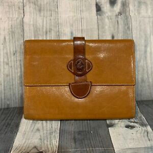 Vintage-CLOETTA-For-I-MAGNIN-Made-in-Italy-Leather-Wallet-Tan-Passport-Holder