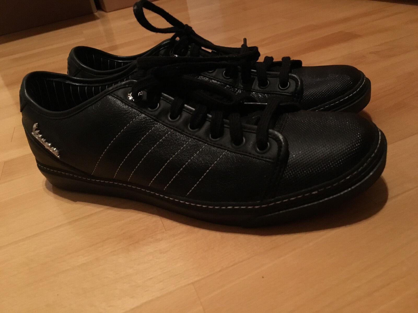 Adidas Vespa Schwarz Neu selten Gr.42,2 3 b787ddoew25638