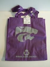 """Kansas State Wildcats Reusable Tote Bag """"Green Forever"""" Reduce Reuse Recycle"""