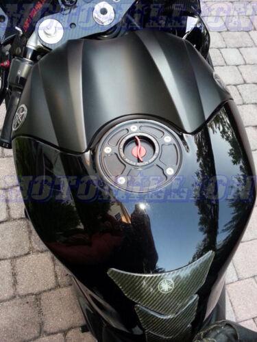 CNC HONDA BILLET FUEL GAS CAP CBR 600 900 1000 RR F HORNET CB R VTR BLACK