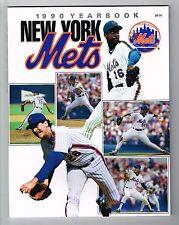 1990 New York Mets MLB Baseball Yearbook