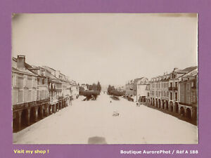 PHOTO-1890-DEPARTEMENT-DE-LA-MEUSE-VILLE-A-IDENTIFIER-PLACE-COMMERCES-A188