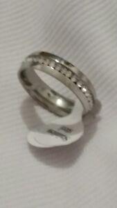 Silver SS Rings Ring size N P R T V X Z Type B Mens Womens