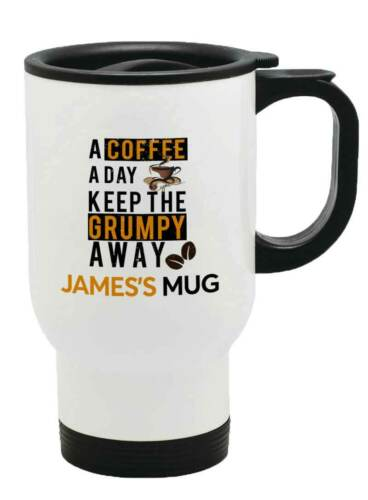 Personalised Any Name Generic Thermal Travel Mug Flask Coffee Tea Mug 126