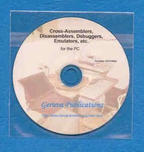 Software-Cross-Assembler-Emulator-Debugger-collection