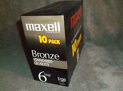 Maxell Bronze T-120 VHS 1-pack