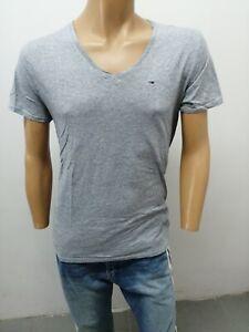 Maglia-TOMMY-HILFIGER-uomo-taglia-size-L-man-maglietta-shirt-cotone-P-5827