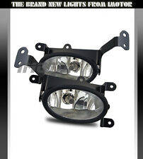 [w/ Switch+Harness] 2006 2007 2008 Honda Civic 2DR Coupe Clear Fog Lights Pair
