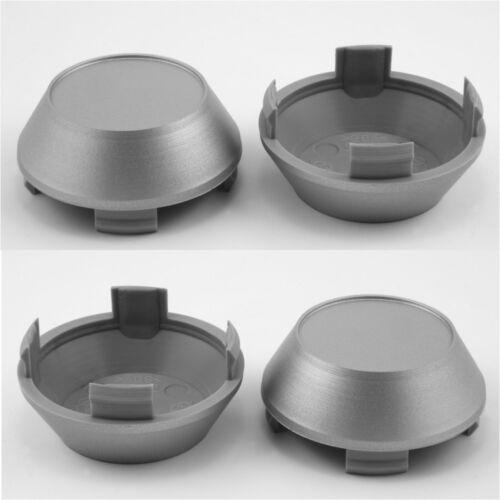 Wheel center caps centre universal alloy rim plastic 4x hub cap 56-60 mm no logo