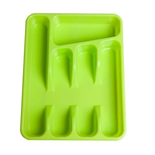 Besteckkasten Besteckeinsatz Schubladeneinsatz Besteckkorb Kunststoff bunt