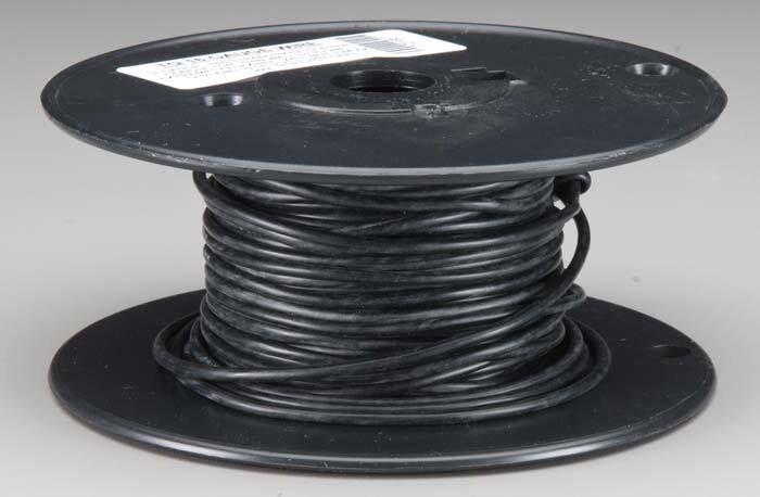 Alambre de cableado de radio control TQ 1651 Cable calibre 16 50' Negro