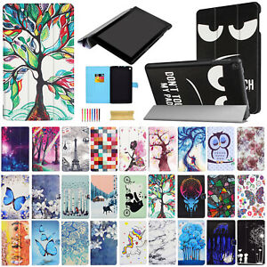 For-Amazon-Kindle-Fire-HD-8-8th-7th-Gen-Magnetic-Leather-Smart-Stand-Case-Cover