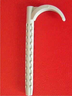 100 Stück Rohrhaken - Rohrschelle - Schelle 6x70mm einseitig