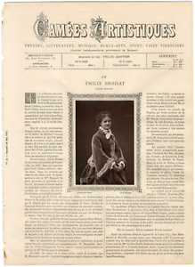 Goupil-France-Camees-Artistiques-Emilie-Broisat-vintage-print-Emilie-Augus