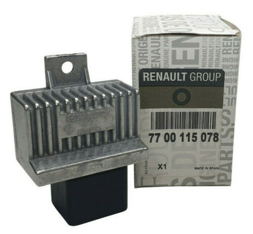 Original Renault Vorglüh relais Dispositif de commande CLIO MEGANE LAGUNA NEUF 7700115078