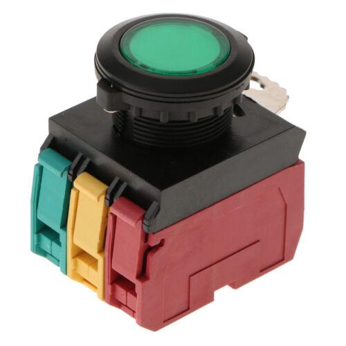 Momentary Push Button Switch LA22E-11DT 1NO1NC 24V LED 22mm Mounting Hole