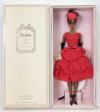 BARBIE FASHION MODEL COLLECTION LITTLE RED DRESS BARBIE SILKSTONE AA NIB