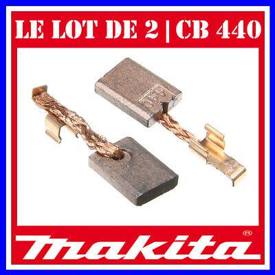 Balais Charbon Pour Makita Batterie-percussion BHP 442 3x10mm cb-440