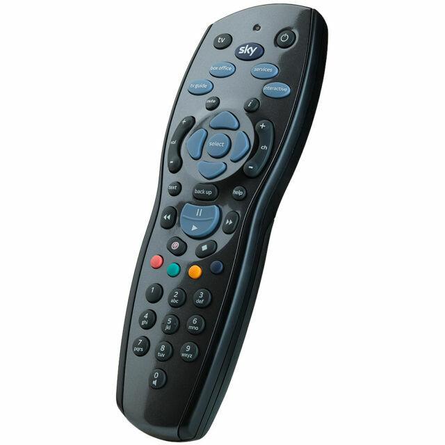 Sky 125 Plus 1tb Hd Tv Remote Control Black For Sale Online Ebay