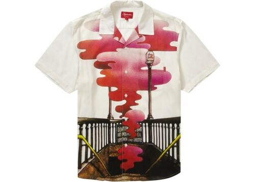Supreme The Velvet Underground Rayon S/S Shirt Whi