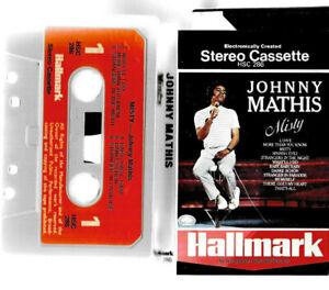CASSETTE-JOHNNY-MATHIS-misty-50s-60s-70s-easy-listening