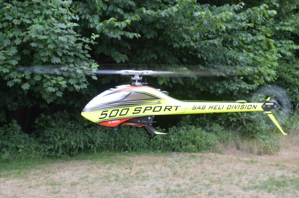 Sab GOBLIN 500 SPORT Ready to Fly RTF + Axon Autopilot + Duplex Jeti DS 16