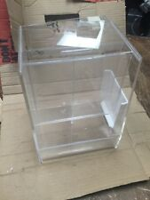 Plastic Acrylic Mint Tip Table Counter Top Lock Box